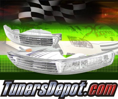 TD® Front Bumper Signal Lights (Euro Clear) - 98-01 Acura Integra