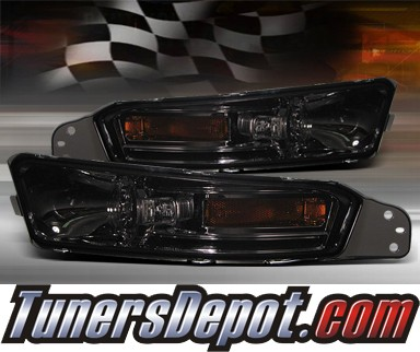 TD® Front Bumper Signal Lights (Smoke) - 05-09 Ford Mustang