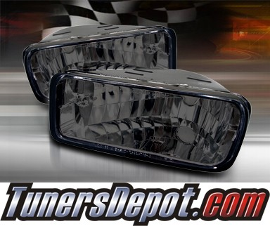 TD® Front Bumper Signal Lights (Smoke) - 85-92 Chevy Camaro