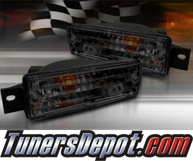 TD® Front Bumper Signal Lights (Smoke) - 88-91 BMW 318i E30