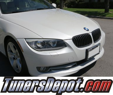 TD® Front CF Kidney Grilles (FULL Carbon Fiber)  - 2011-2013 BMW 328i 2dr  Coupe/Convertible E92/E93 3 Series