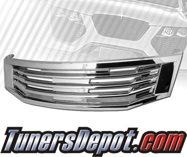 TD® Front Grill Grille (Chrome) - 08-10 Honda Accord 4dr (M Style)