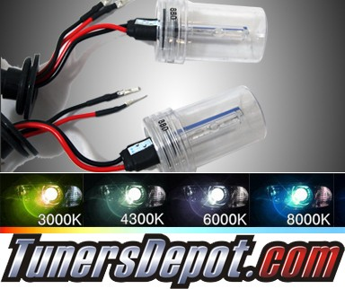 TD® HID Kit Replacement Bulbs - 12000K Universal 880 Violet Blue