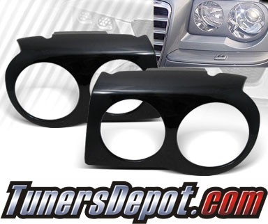 TD® Headlight Covers - 05-10 Chrysler 300C (Eyelids/Eyebrows/Eye Lid Brows)