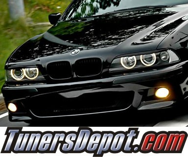 TD® Headlight Eye Lid Headlight Covers - 01-03 BMW 530i E39 (Eyelids/Eyebrows)