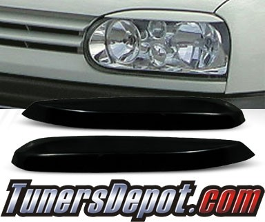 TD® Headlight Eye Lid Headlight Covers - 93-98 VW Volkswagen Golf (Eyelids/Eyebrows)