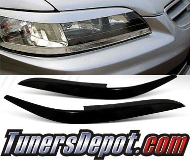 TD® Headlight Eye Lid Headlight Covers - 98-02 Honda Accord (Eyelids/Eyebrows)