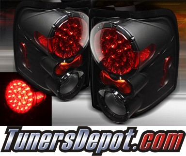 TD® LED Tail Lights (Black) - 02-05 Ford Explorer 4dr