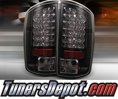 TD® LED Tail Lights (Black) - 02-06 Dodge Ram Pickup