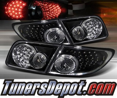 TD® LED Tail Lights (Black) - 03-08 Mazda 6 4dr/5dr (Exc. Wagon)
