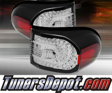 TD® LED Tail Lights (Black) - 07-11 Toyota FJ Cruiser