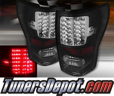 TD® LED Tail Lights (Black) - 07-12 Toyota Tundra (Version 2)