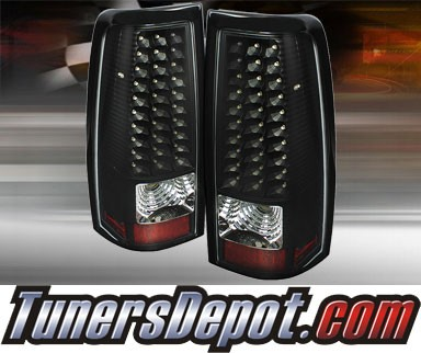 TD® LED Tail Lights (Black) - 99-02 Chevy Silverado