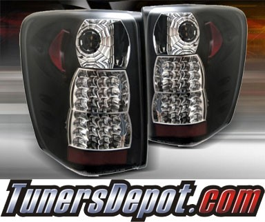 TD® LED Tail Lights (Black) - 99-04 Jeep Grand Cherokee