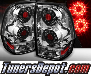 TD® LED Tail Lights (Chrome) - 02-09 Chevy TrailBlazer Trail-Blazer