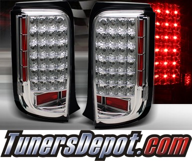 TD® LED Tail Lights (Chrome) - 08-10 Scion xB