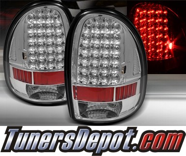 TD® LED Tail Lights (Chrome) - 96-00 Dodge Caravan
