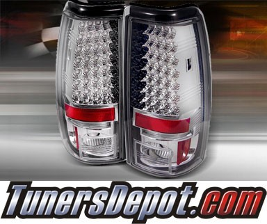 TD® LED Tail Lights (Chrome) - 99-02 Chevy Silverado
