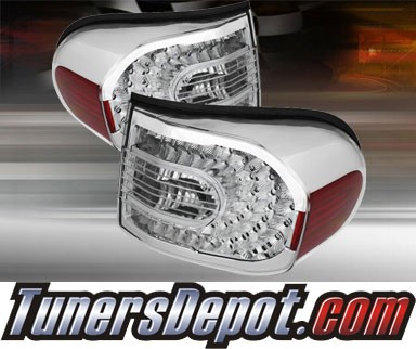 TD® LED Tail Lights (Clear) - 07-11 Toyota FJ Cruiser