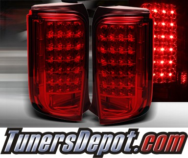 TD® LED Tail Lights (Red) - 08-10 Scion xB