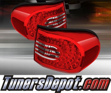 TD® LED Tail Lights (Red/Clear) - 07-11 Toyota FJ Cruiser