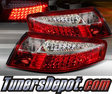 TD® LED Tail Lights (Red/Clear) - 99-04 Porsche 911 (Inc. Convertible)