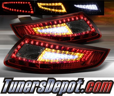 TD® LED Tail Lights (Red/Smoke) - 05-08 Porsche 911 (Inc. Convertible)