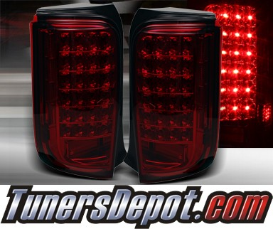 TD® LED Tail Lights (Red/Smoke) - 08-10 Scion xB