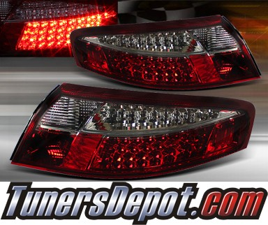 TD® LED Tail Lights (Red/Smoke) - 99-04 Porsche 911 (Inc. Convertible)