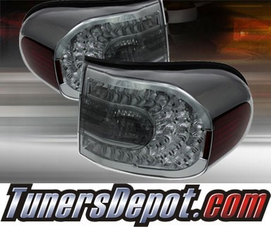TD® LED Tail Lights (Smoke) - 07-11 Toyota FJ Cruiser