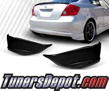 TD® Rear Bumper Side Lips - 05-10 Scion tC