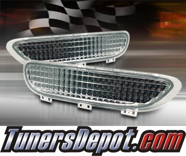 TD® Rear Bumper Signal Lights (Clear) - 99-03 BMW 325ci E46 2dr. (Inlc. Convertible)