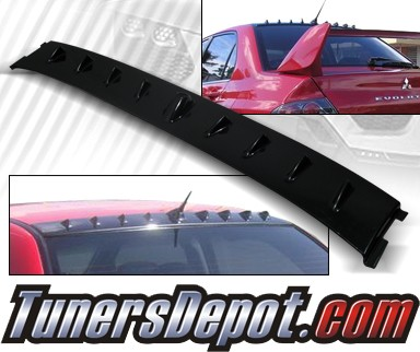 TD Rear Roof Spoiler Wing - 02-07 Mitsubishi Lancer