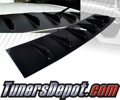 TD Rear Roof Spoiler Wing - 08-10 Mitsubishi Lancer