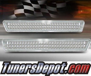 TD® Rear Side Bumper Lights (Clear) - 94-98 Ford Mustang