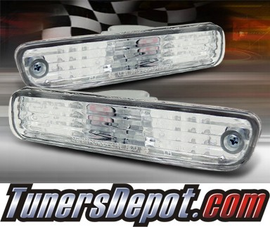 TD® Rear Side Bumper Lights (Euro Clear) - 92-96 Honda Prelude