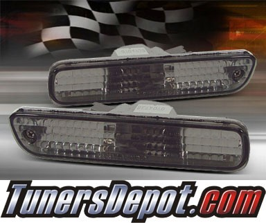TD® Rear Side Bumper Lights (Smoke) - 92-96 Honda Prelude