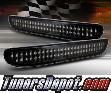 TD® Rear Side Bumper Lights (Smoke) - 94-98 Ford Mustang