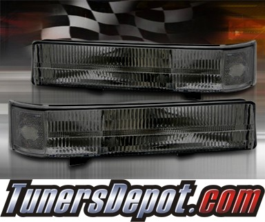 TD® Rear Side Bumper Lights (Smoke) - 99-04 Ford Mustang