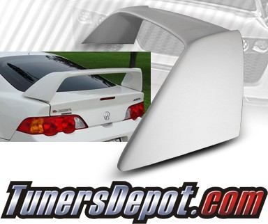 TD Rear Spoiler Wing (White) - 02-06 Acura RSX RS-X (TR Style)