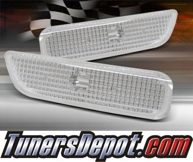 TD® Side Bumper Signal Lights (Clear) - 95-99 Dodge Neon