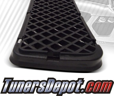TD® Thick Mesh Grille Front Bumper Lower Grill (Black) - 05-10 Scion tC (Thick Mesh)