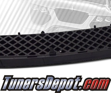 TD® Thick Mesh Upper Front Grill (Black) - 05-10 Scion tC (Thick Mesh)