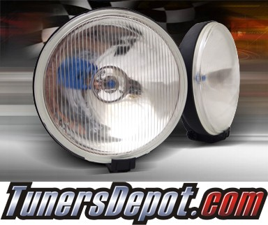 TD® Universal Fog Light Kit - 7 inch Round with Covers