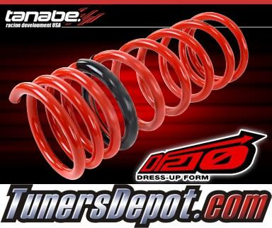 Tanabe® DF210 Lowering Springs - 07-09 Nissan Sentra SE-R/Spec V Only