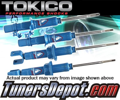 Tokico® HP Series Gas Shock - 93-97 Nissan Altima (SINGLE REAR RIGHT SHOCK)