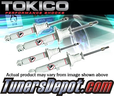 Tokico® Illumina Adjustable Shocks - 03-06 Dodge Neon SRT-4 (FRONT PAIR)
