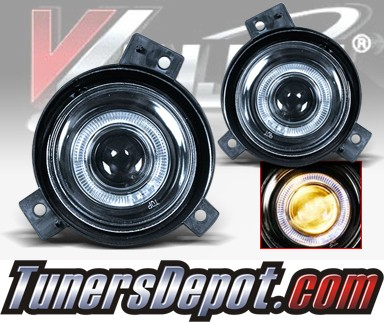 WINJET® Halo Projector Fog Light Kit (Clear) - 01-03 Ford Ranger (OEM Replacement Only)