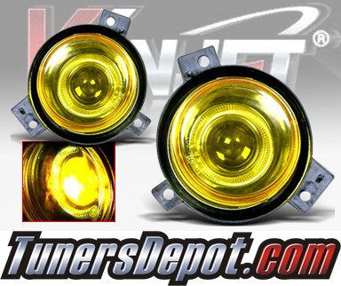WINJET® Halo Projector Fog Light Kit (Yellow) - 01-03 Ford Ranger (OEM Replacement Only)