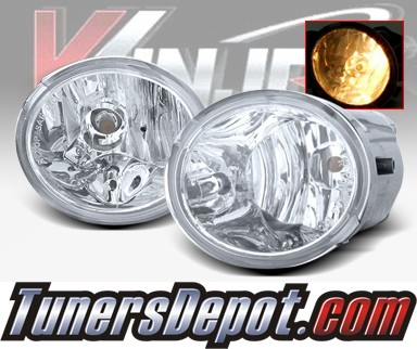 WINJET® OEM Style Fog Light Kit (Clear) - 03-05 Toyota Tundra (OEM Replacement Only)